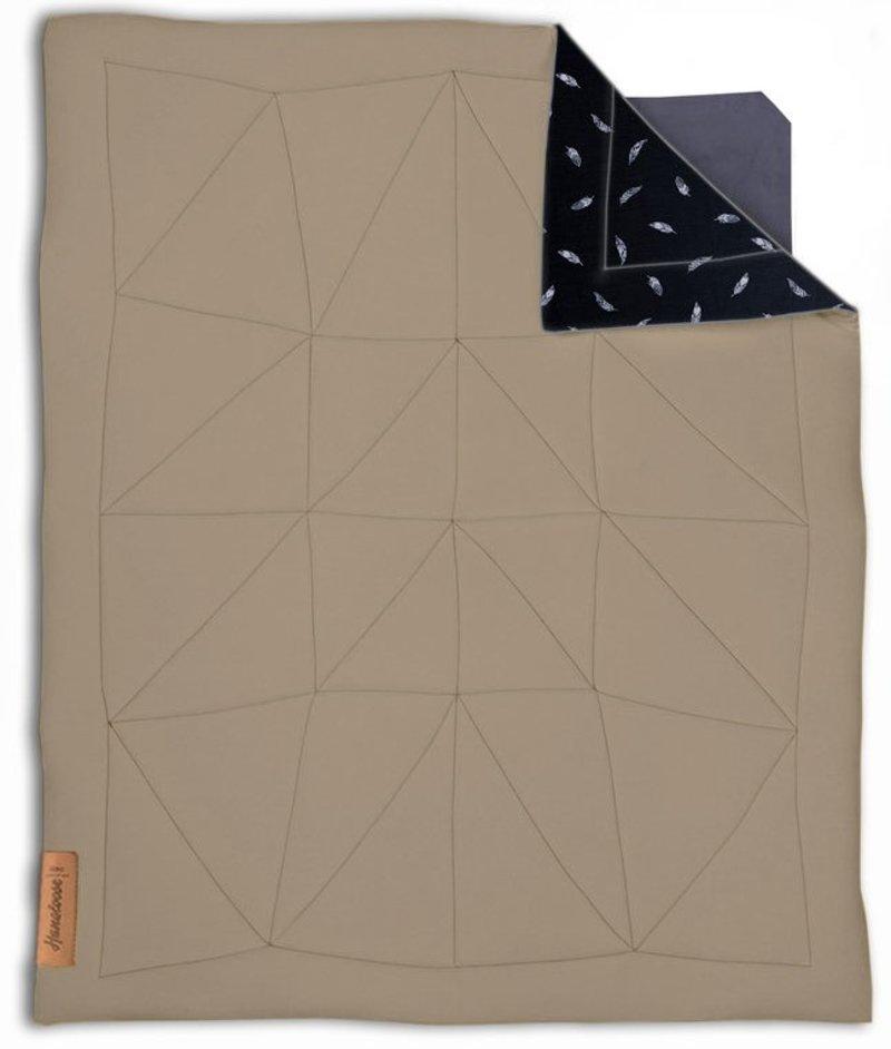 Hangloose Baby Baby  boxkleed, speelkleed en hangmat in één - Gentle Sand / Zand - 98 x 78 cm