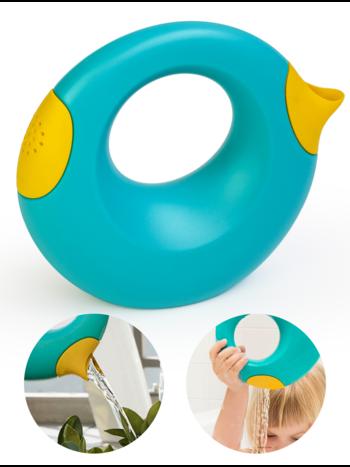 Quut Cana Speelgoed Gietertje - Tuin Bad Strand Speelgoed Meisje Jongen -  Cadeau 1 jaar | 2 jaar | 3 jaar | 4 jaar | 5 jaar - Geel Blauw - Small 0,5 liter