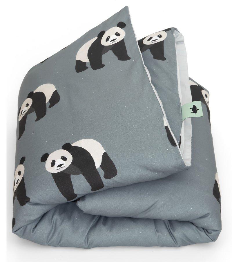 Studio Ditte Panda 1 Persoons Dekbedovertrek Kinderen 140 x 200 - Dieren / Meisje / Jongen