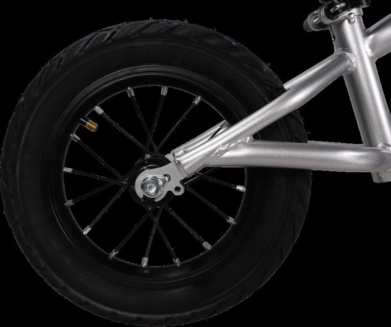 Tryco Loopfiets Jongen Meisje Zilver - 2 jaar | 3 jaar - Balance Bike Chaser Silver TR-413201