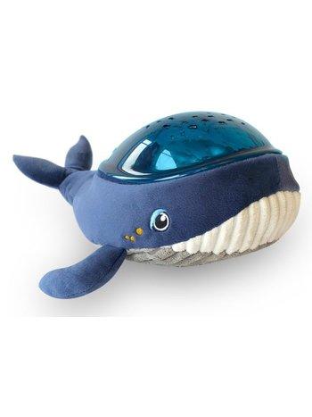 Pabobo Onderwaterprojector Aqua Dream Walvis met Vissen | Timer | Slaaplieder | White Noise