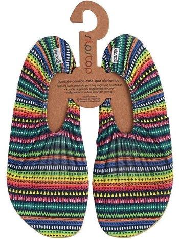 Slipstop Zwemschoenen voor Kinderenen Tieners Volwassenen Multicolour