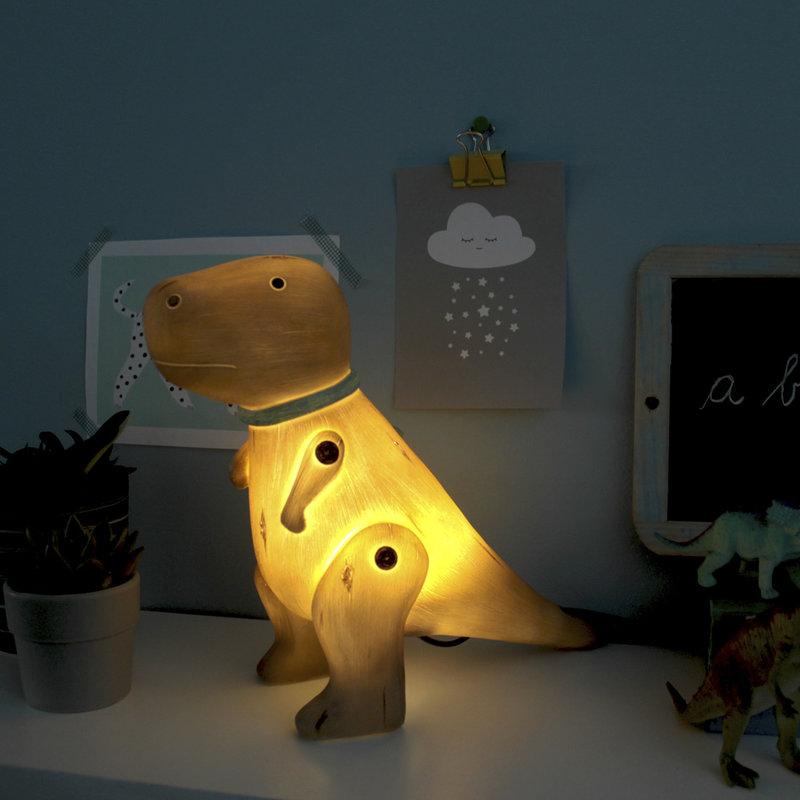 House of Disaster Dinosaurus T Rex Houtlook Nachtlampje - Kind Kinderkamer