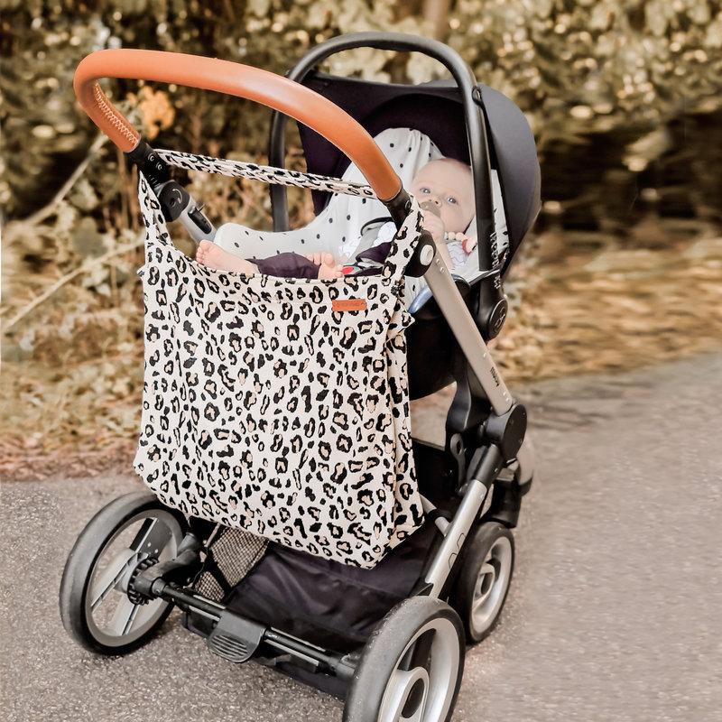 Your Wishes Mommy Tote Bag / Grote Denim Luiertas Blauw / Kinderwagen Luiertas /  Verzorgingstas Baby / Boodschappentas