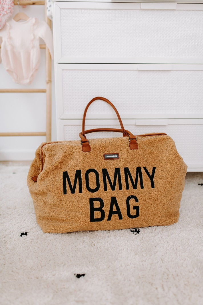 Childhome Mommy Bag Luiertas Verzorgingstas Teddy Bruin
