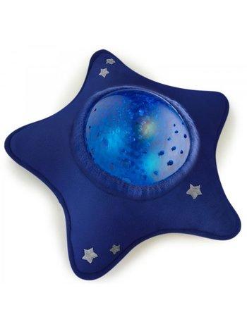 Pabobo Onderwaterprojector XXL Calm Ocean Blauwe Ster met Vissen | Timer | Huilsensor | Muziek | White Noise