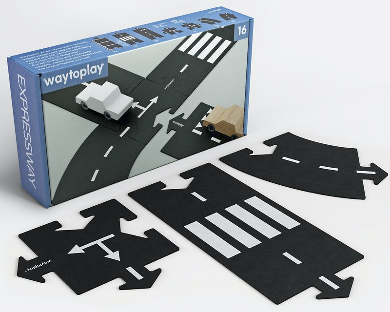 Waytoplay Autobaan 16 delig - Startset