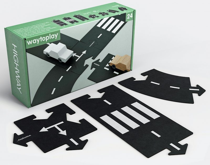 Waytoplay Autobaan 24 delig - Startset