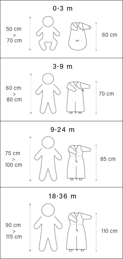 Bemini 18-36 mnd winterslaapzak Softy Jersey denimblauw - 110 cm - 2.0 Tog