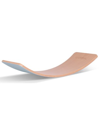 Wobbel Starter Sky Lucht Blauw Gelakt - Hout Met Vilt - Balance Board 70 centimeter - 0 tot 3 jaar
