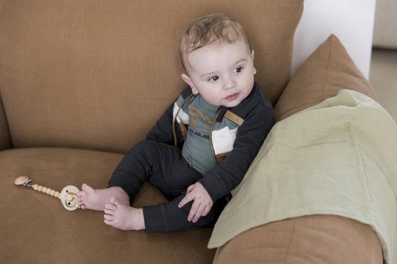 Dirkje 3-delig Setje Baby Jongen Grijs