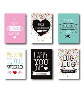 I.B.Z.M. 6-pack cards