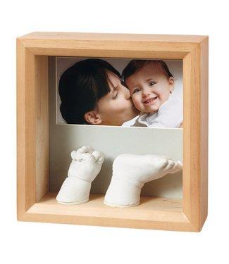 Baby Art my baby sculpture frame Honey