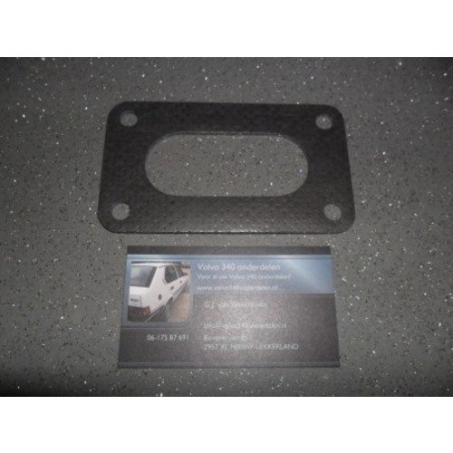 Voetpakking metaal Weber carburateur 3267284 NIEUW Volvo 240, 340 en 740