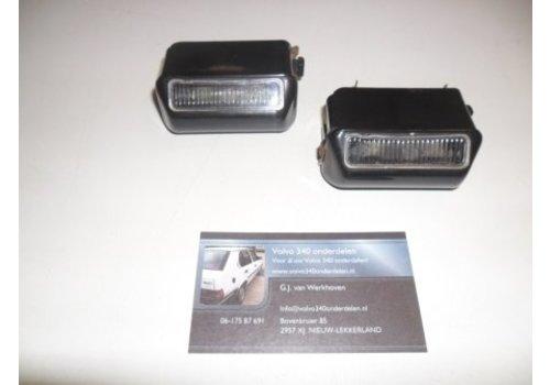 Verlichting achter bumper kentekenplaat (model: 1) gebruikt Volvo 343, 340