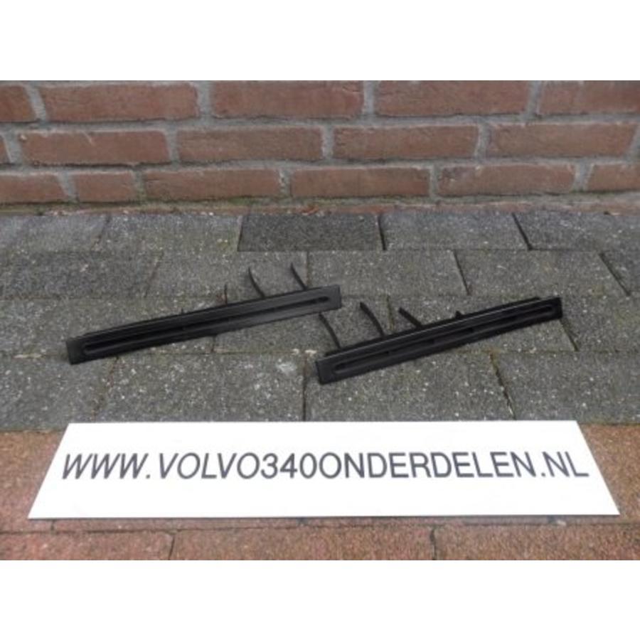 Rooster set onder voorruit/dashboard Volvo 343