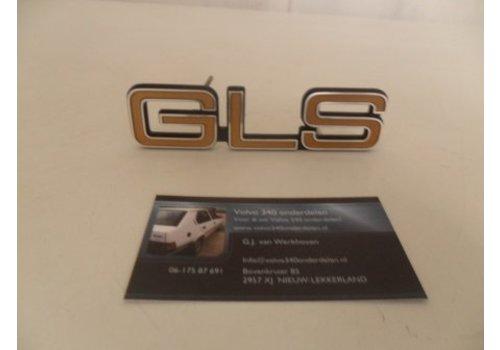 Lettering emblem 'GLS' NEW Volvo 300 series