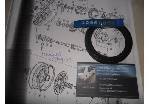 Seal CVT transmission 3266633-1 new Volvo 300-series
