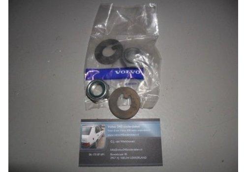 Borgring met moer voor wiellager 3104006 / 3292060 NIEUW Volvo 300-serie