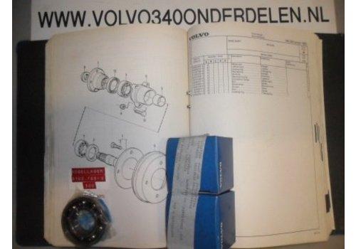 Kogellager wielas achter tot ch.120999 NIEUW 3105765-6 Volvo 340, 360