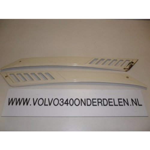 Grille panel rear screen LH / RH 3269298-0 uses Volvo 343, 340, 360