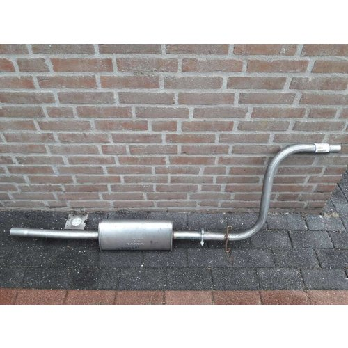 Exhaust middle silencer without Catalyst 3287201 B14 engine NEW Volvo 343,340