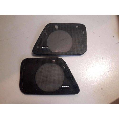 Speakerkapje L + R voorportier 3462800 3462801 gebruikt Volvo 440, 460, 480