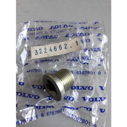 Aftap carterplug B14/B172/D16 motor 3224662 NIEUW Volvo 343, 345, 340