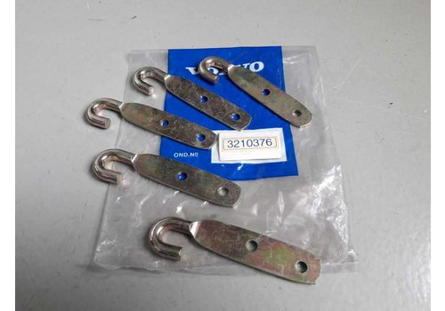 Support / hook exhaust rubber mounting middle pipe B14 old types 3210376 NEW Volvo 340
