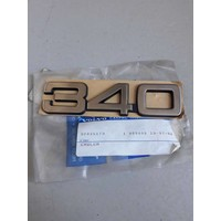 Emblem '340' 3202517 to CH.120999 NEW Volvo 340