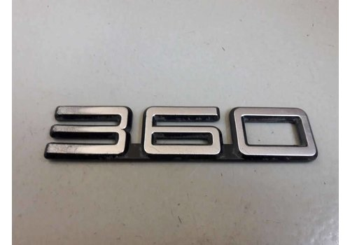 Embleem '360' tot CH.120999 3205172 gebruikt Volvo 360