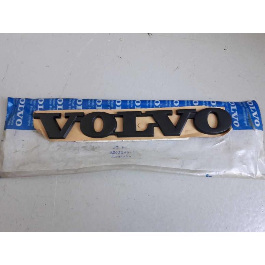 Embleem achterzijde 'Volvo' 3202245 Zwart NIEUW Volvo 340, 360