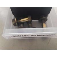 Bevestigingsbout met moer voor BDP krukas sensor 3120560 gebruikt Volvo 340, 360