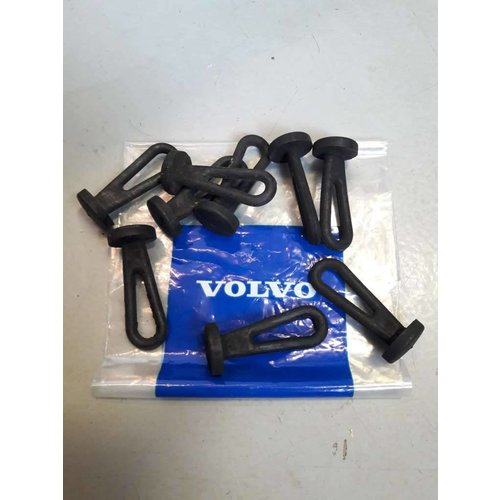 Rubber loop tie mounting hat shelf 3104524-8 NEW Volvo 66