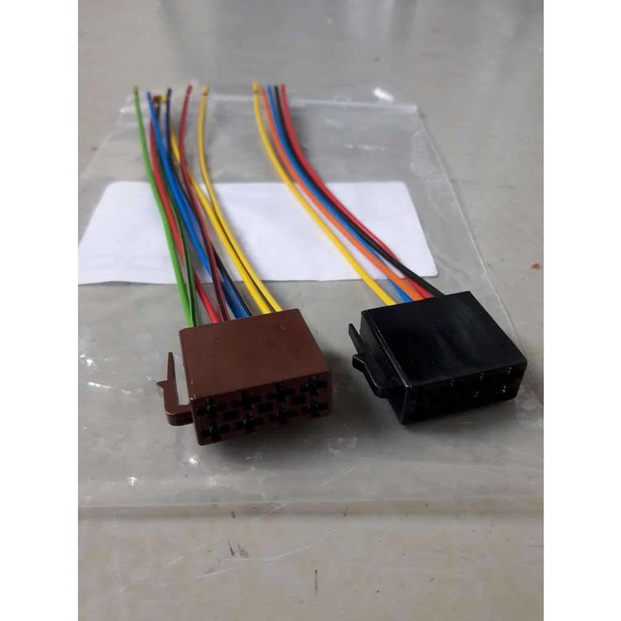 ISO connection cable plug set car radio 0504 NEW Universal