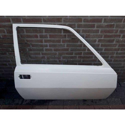 Door RH 3-drs white 3287486-9 NEW Volvo 340, 360