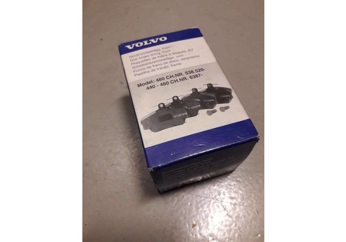 Brake pad set front 3344787 NEW Volvo 440, 460