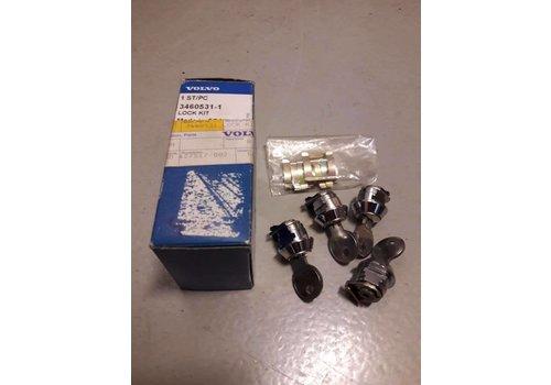 Cilinderslot set dakdragers 3460531 NIEUW Volvo 440, 460, 480