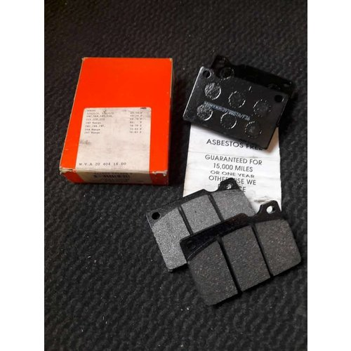 Front brake pad front 270153/272779/31261180 NEW Volvo 120, 142, 144, 145, 164, 240, 260