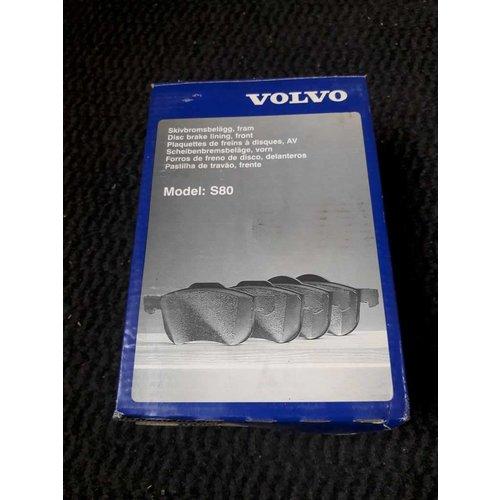 Remblokset voorzijde 8634921 NIEUW Volvo S80