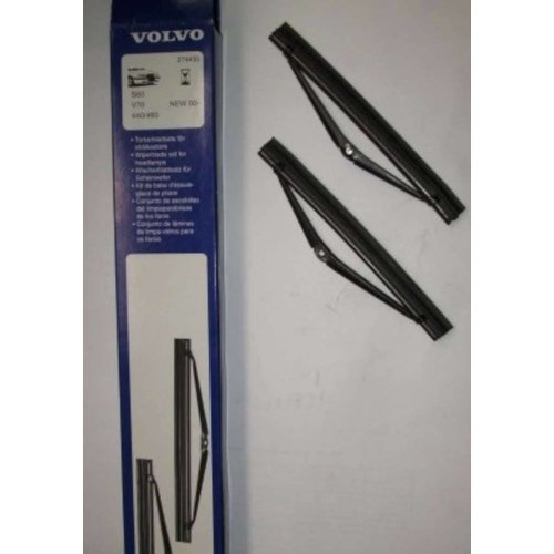 Wiper blade set headlight cleaning 3345146 NEW Volvo 400 series, S60, V70, XC70