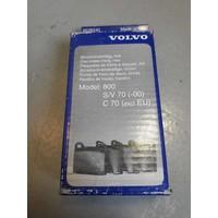 Rear brake pad kit 8628240 NEW Volvo 800, C70, S70, V70