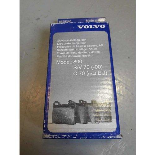 Remblokset achteras 8628240 NIEUW Volvo 800, C70, S70, V70