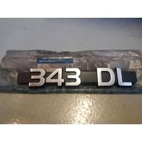 Belettering embleem DL 3269901 NIEUW Volvo 343
