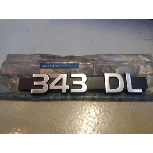Lettering logo DL 3269901 NEW Volvo 343