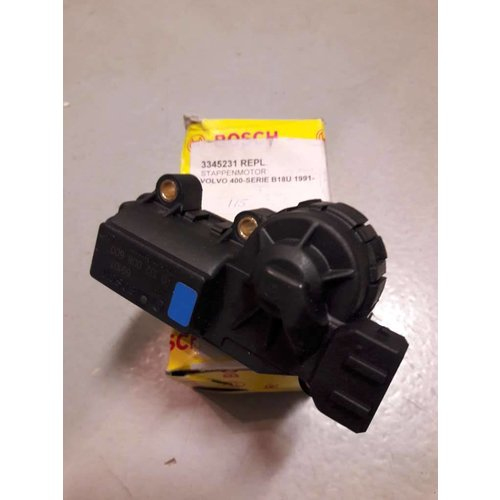 Stepper motor throttle valve element Bosch 3345231 NEW Volvo 240, 440, 460, 480, 740, 780, 940, 960