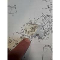 Bevestigingset montage reflector 3287132 3287133 NIEUW Volvo 340, 360