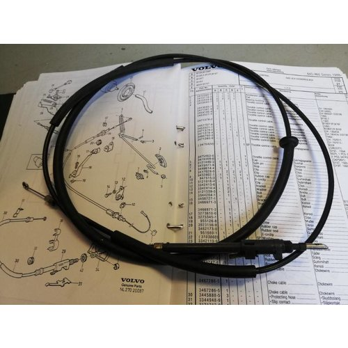 Choke cable 3467287-3 uses Volvo 440, 460