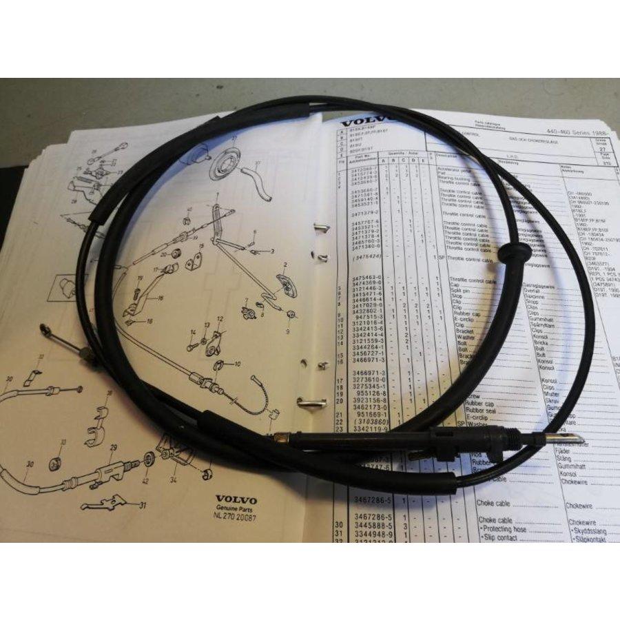 Choke cable 3467287-3 uses Volvo 440, 460
