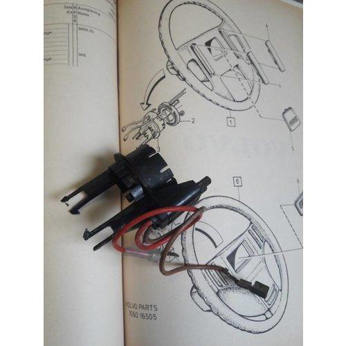 Mounting bracket behind steering wheel horn 3293686-6 Volvo 343, 340, 360